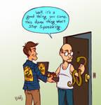 snake oil salesman by Bob-Rz