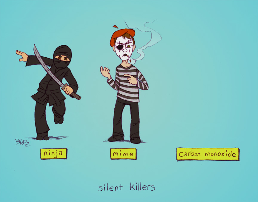 silent killers by Bob-Rz