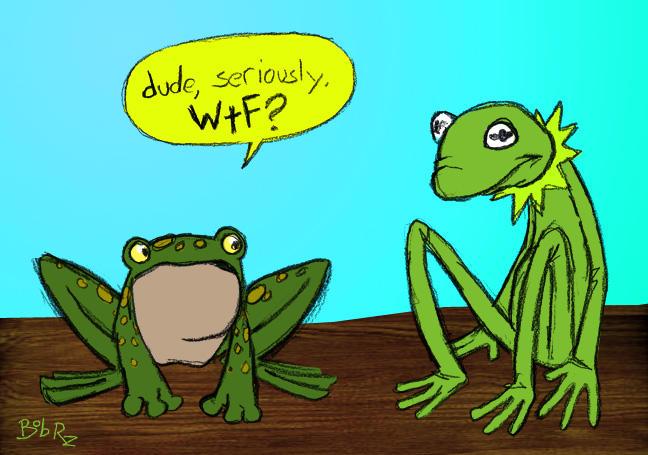 WTF Kermit? by Bob-Rz