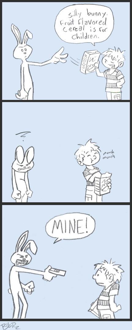 mad bunny by Bob-Rz