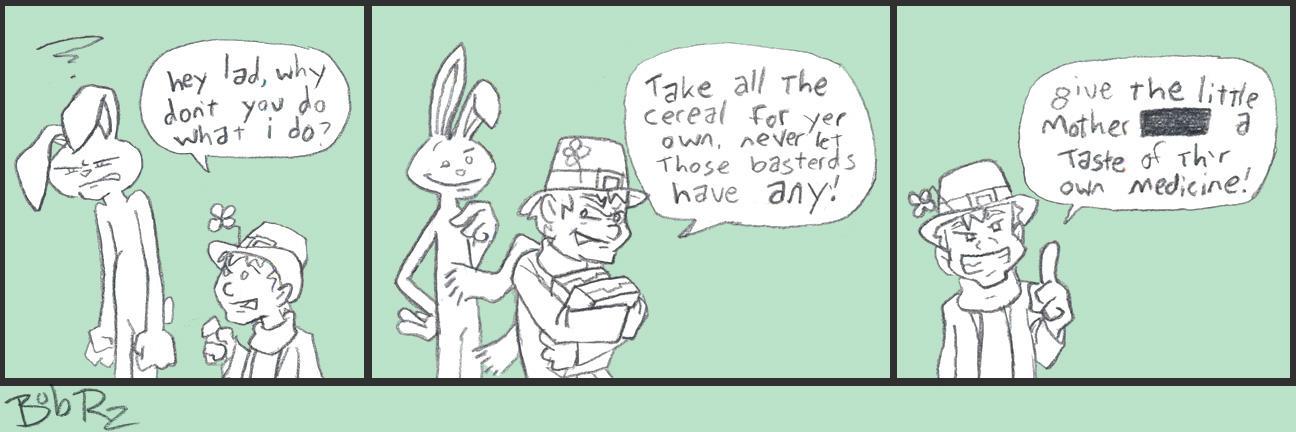lucky bunny by Bob-Rz