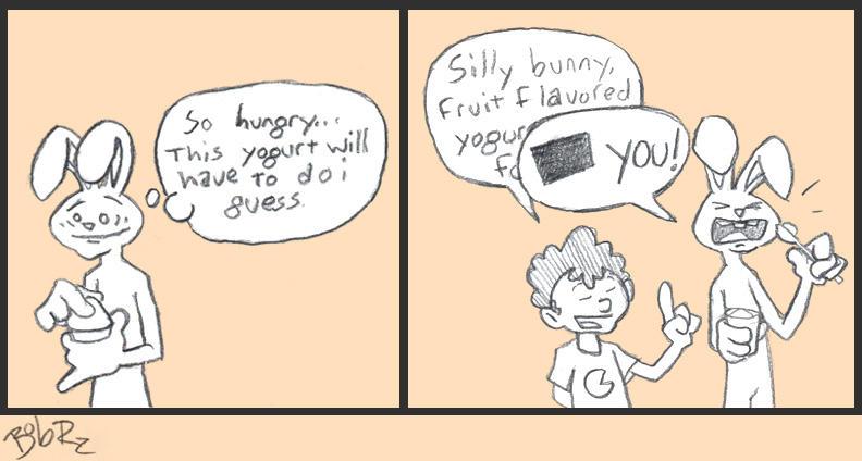 yogurt bunny by Bob-Rz