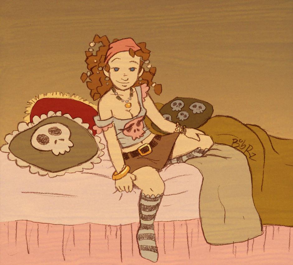 pirate girl by Bob-Rz