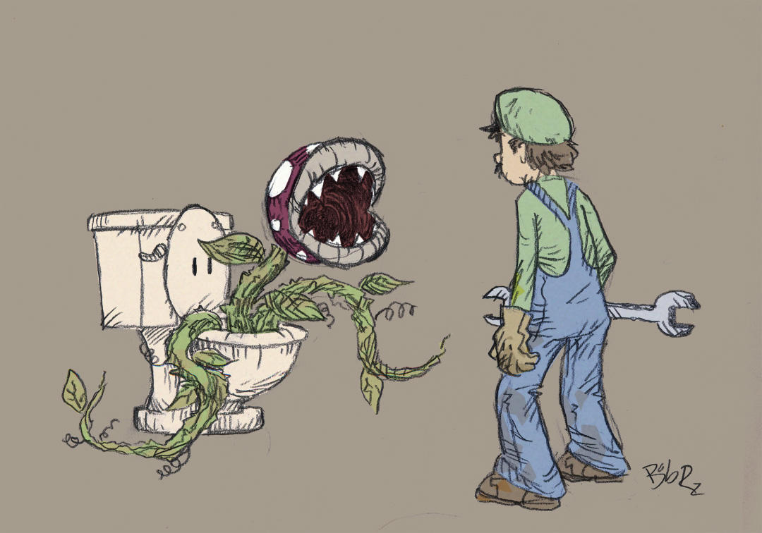 Algunas imagenes graciosas ¬¬ It__s_clogged__by_Bob_Rz
