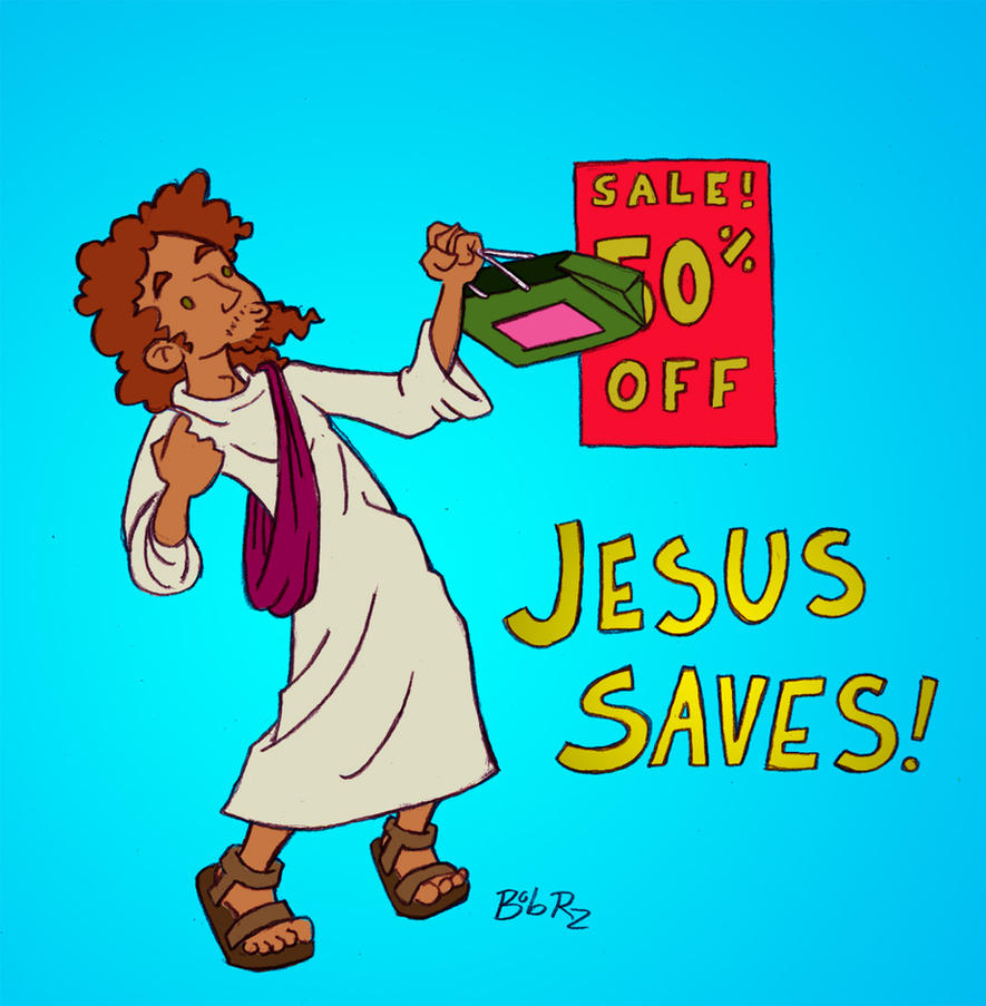 Jesus saves by Bob-Rz
