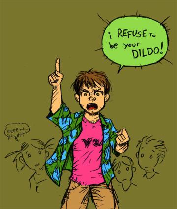 Algunas imagenes graciosas ¬¬ I_refuse_to_be_your_dildo_by_Bob_Rz