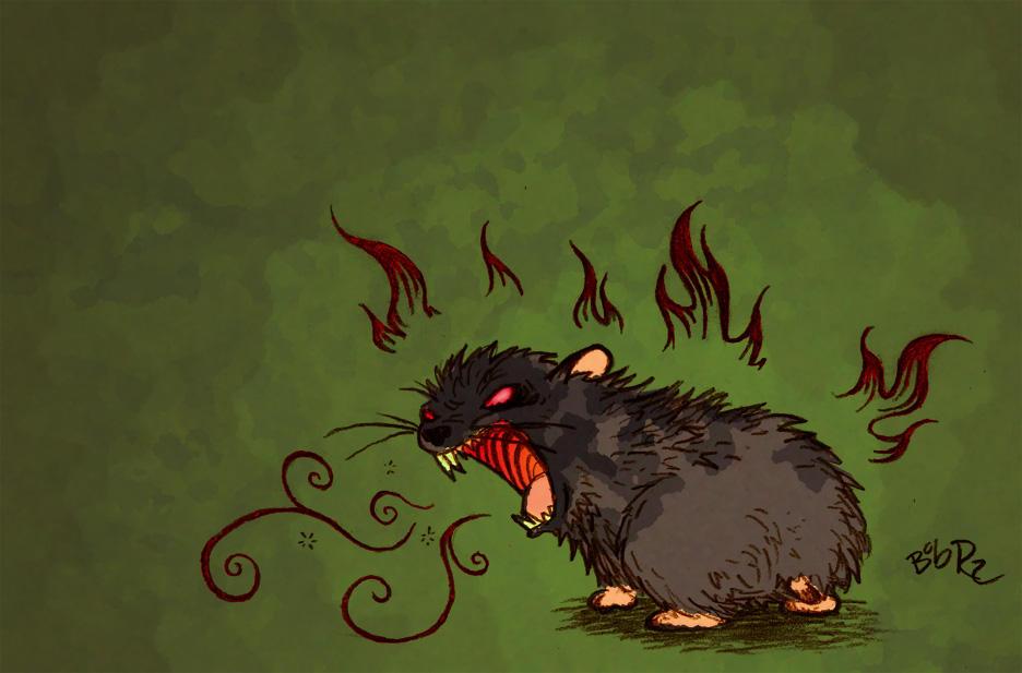 playfull hamster by Bob-Rz