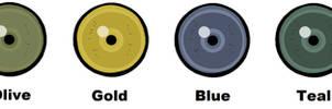 Tiger Eye Color Chart