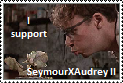 SeymourXAudrey II -Stamp- by Child-Of-Hades