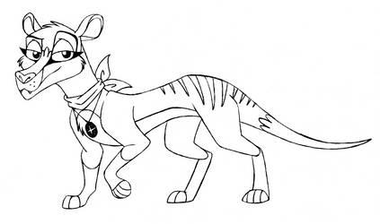 Thylacine OC WIP