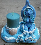 Guardian of Water Candle Holder