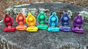 Chakra Guardian Collection by NalinaRoseStudio