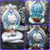 Rainbow Chakra Goddess by NalinaRoseStudio
