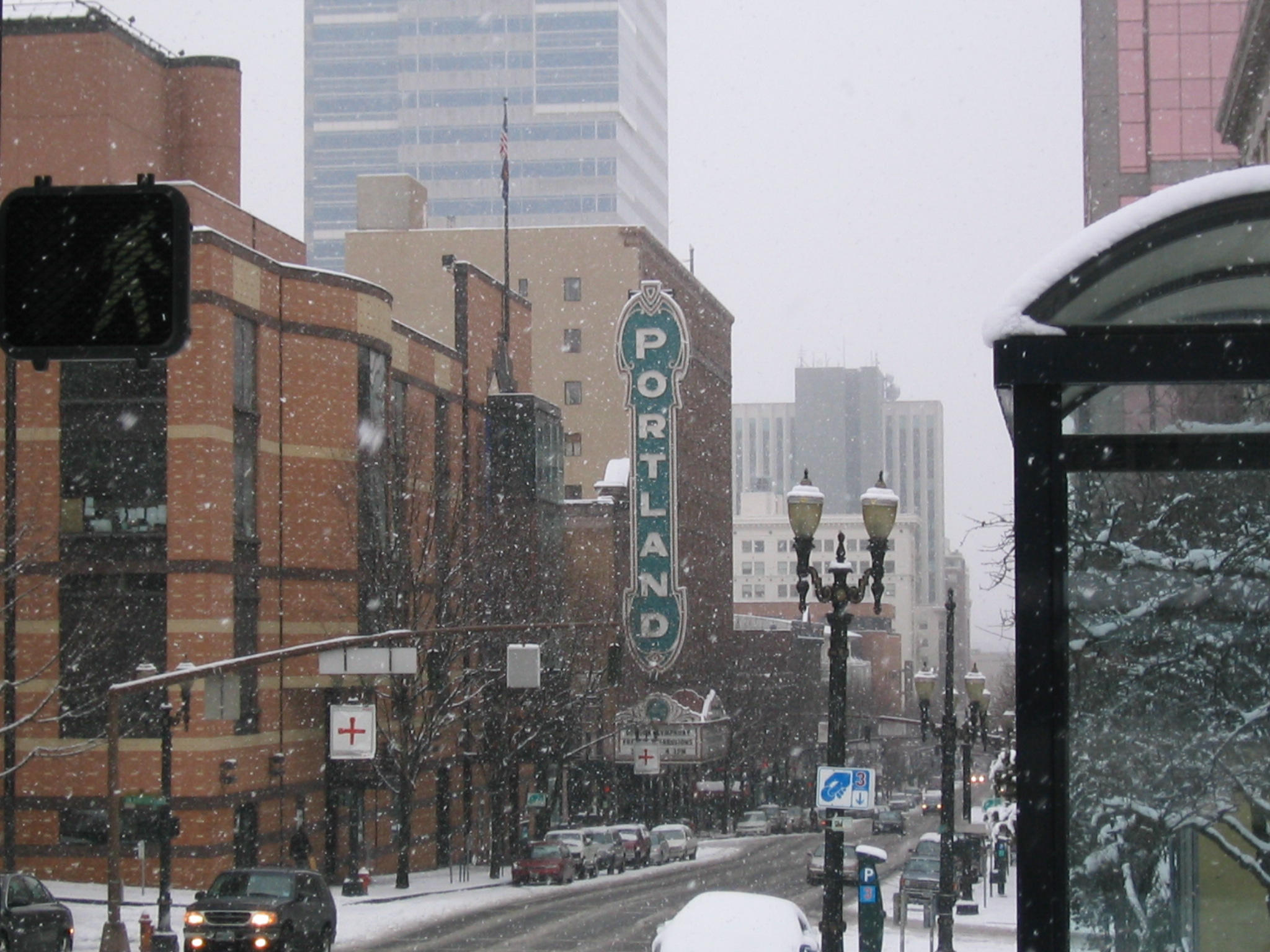 Portland, Winter by nicksphotography