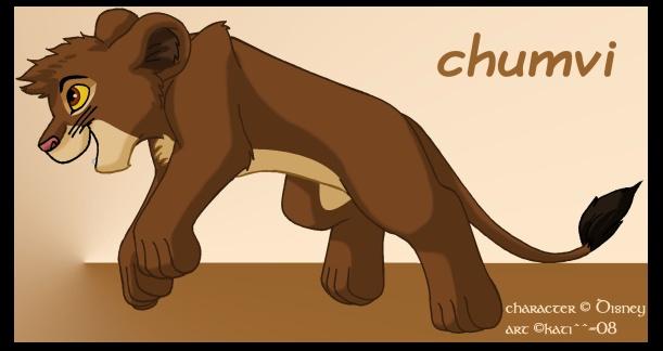 Tengo otra pregunta ¿chumvi tiene los ojos marrones o verdes? Chumvi_by_kati_kopa