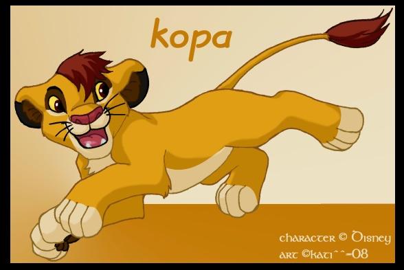 quien crees que es mas lindo kopa o kovu? Kopa_by_kati_kopa