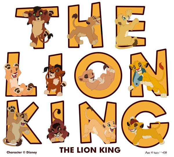 galeria de imagenes hermosas ,curiosas y extrañas  The_lion_king_by_kati_kopa