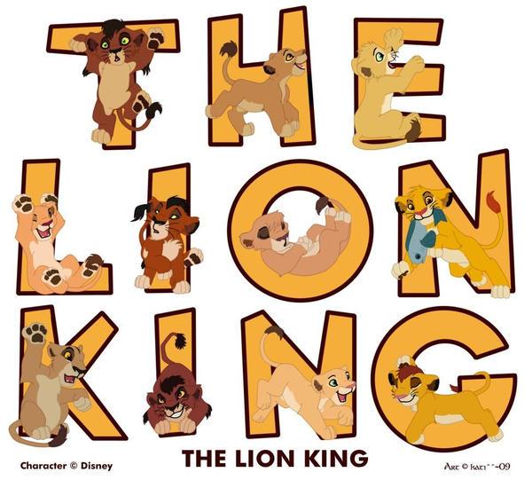 galeria de imagenes hermosas ,curiosas y extrañas  The_lion_king_by_kati_kopa