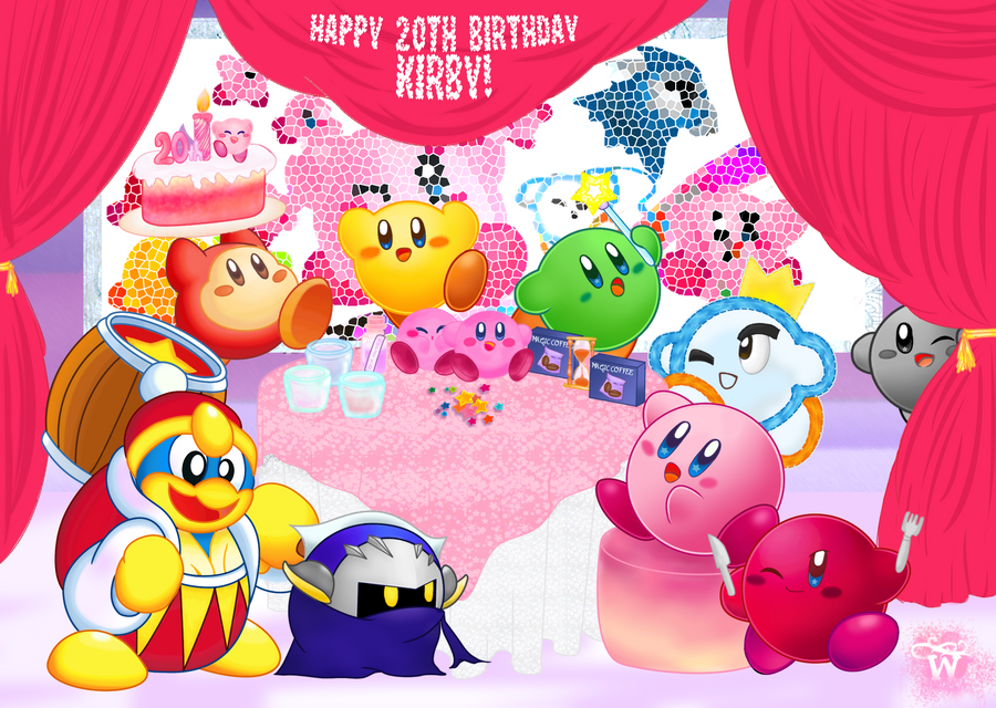 Happy 20th birthday kirby by wanniewirny on deviantart happy 20th birthday kirby by wanniewirny voltagebd Gallery
