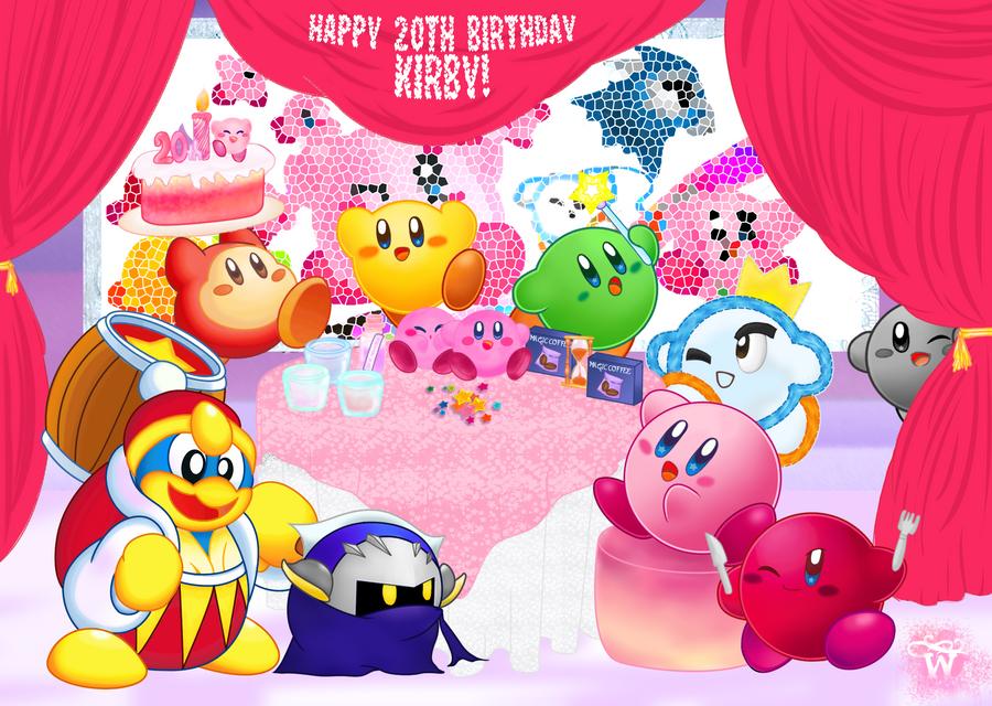 Happy 20th Birthday, Kirby! by WannieWirny