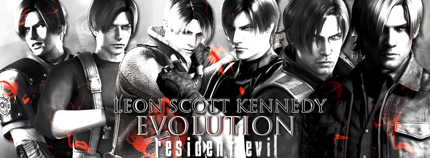Leon Scott Kennedy Evolution B/W By RenegadeOperative On