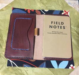 Leather Field Notes Portfolio by Ravenb2