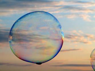 Sunset Bubble by Ravenb2