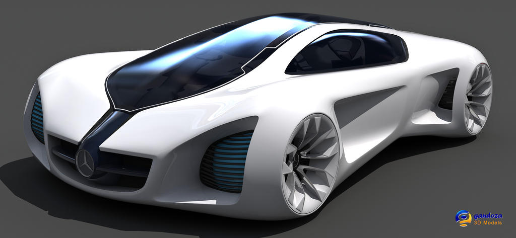 Mercedes Benz Biome Concept Car by Gandoza on DeviantArt