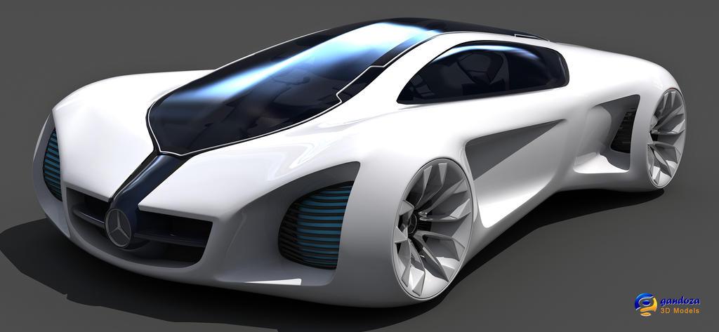 Mercedes Benz Biome Concept Car by Gandoza on DeviantArt