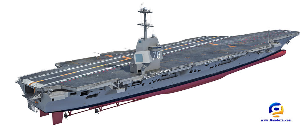 USS Gerald R. Ford Aircraft Carrier CVN-78 by Gandoza on ...