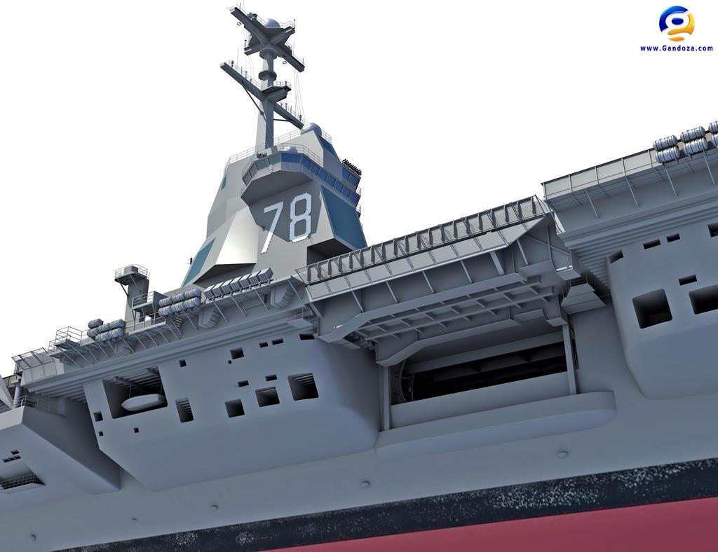 Uss Gerald R Ford Aircraft Carrier Cvn 78 By Gandoza On