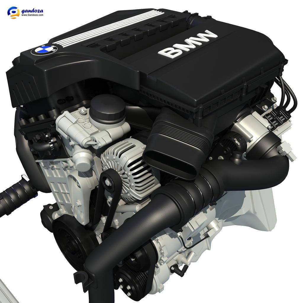 bmw twinpower turbo 6 cylinder petrol engine by gandoza on. Black Bedroom Furniture Sets. Home Design Ideas