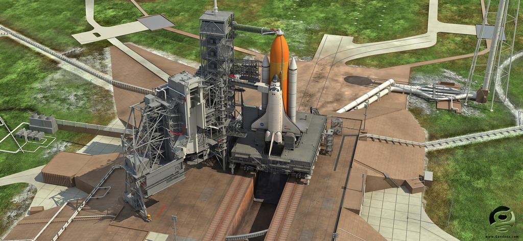 NASA Launch Complex 39A by Gandoza on DeviantArt