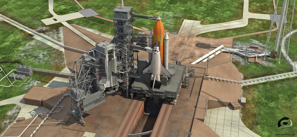 NASA Launch Complex 39A by Gandoza on DeviantArt