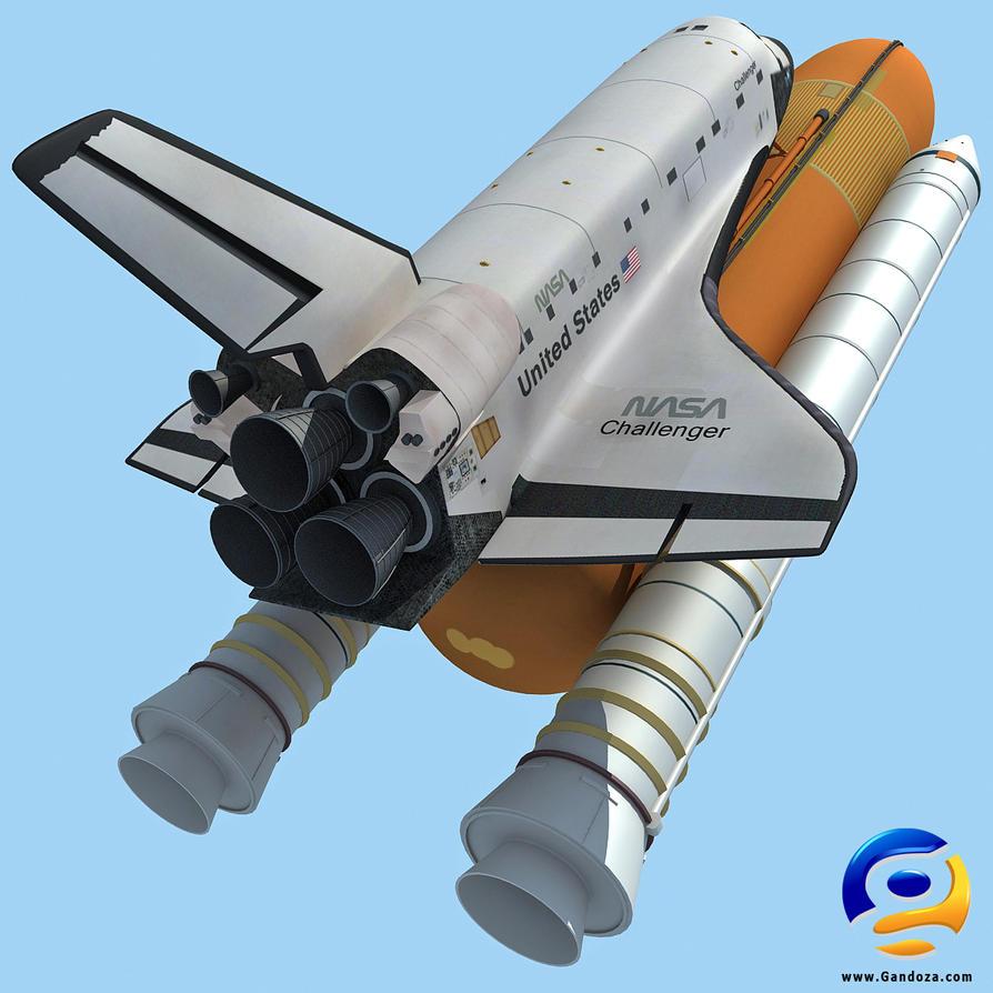 Challenger Space Shuttle NASA by Gandoza on DeviantArt