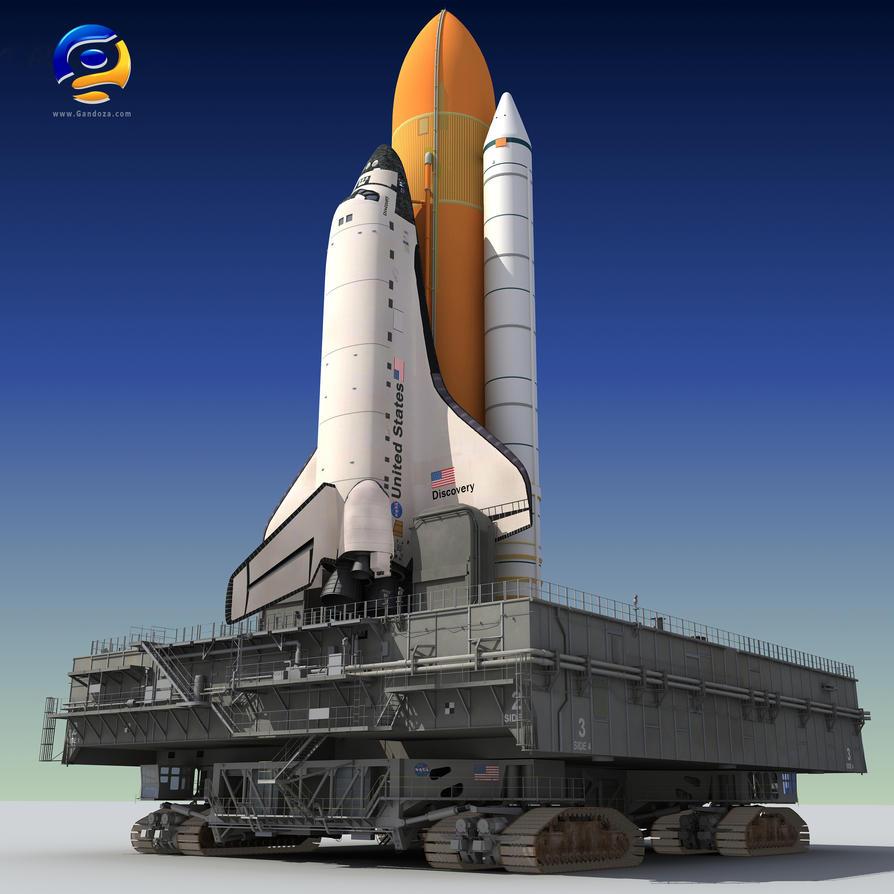 3D NASA Launch Pad by Gandoza on DeviantArt