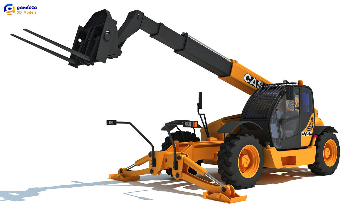 3D Models | Telescopic Handler by Gandoza