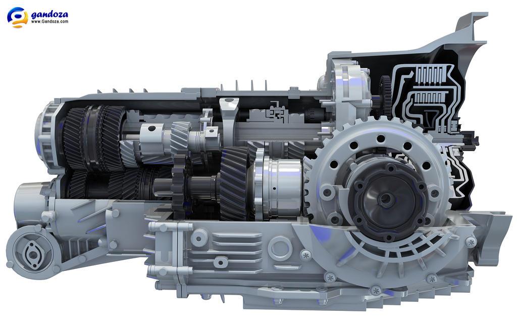 Transmission Cutaway by Gandoza on DeviantArt