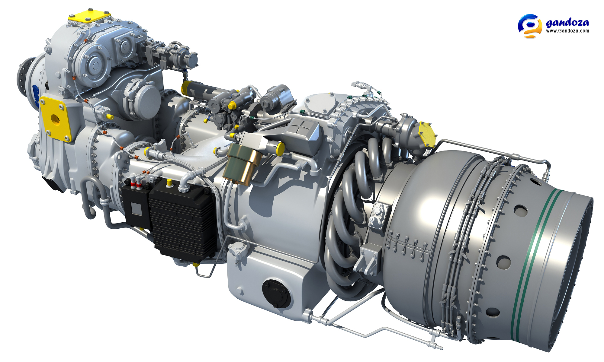 turbo schematic diagram with 3d Model Of Pratt Whitney  100 Turboprop Engine 417504458 on Hm2 Heavy Metal furthermore Nj161ts01 furthermore Disassembling And Dissecting A Detroit Diesel 8v 71 in addition Lets talk about raptor additionally Fichier Turbojet operation Axial flow Fr.