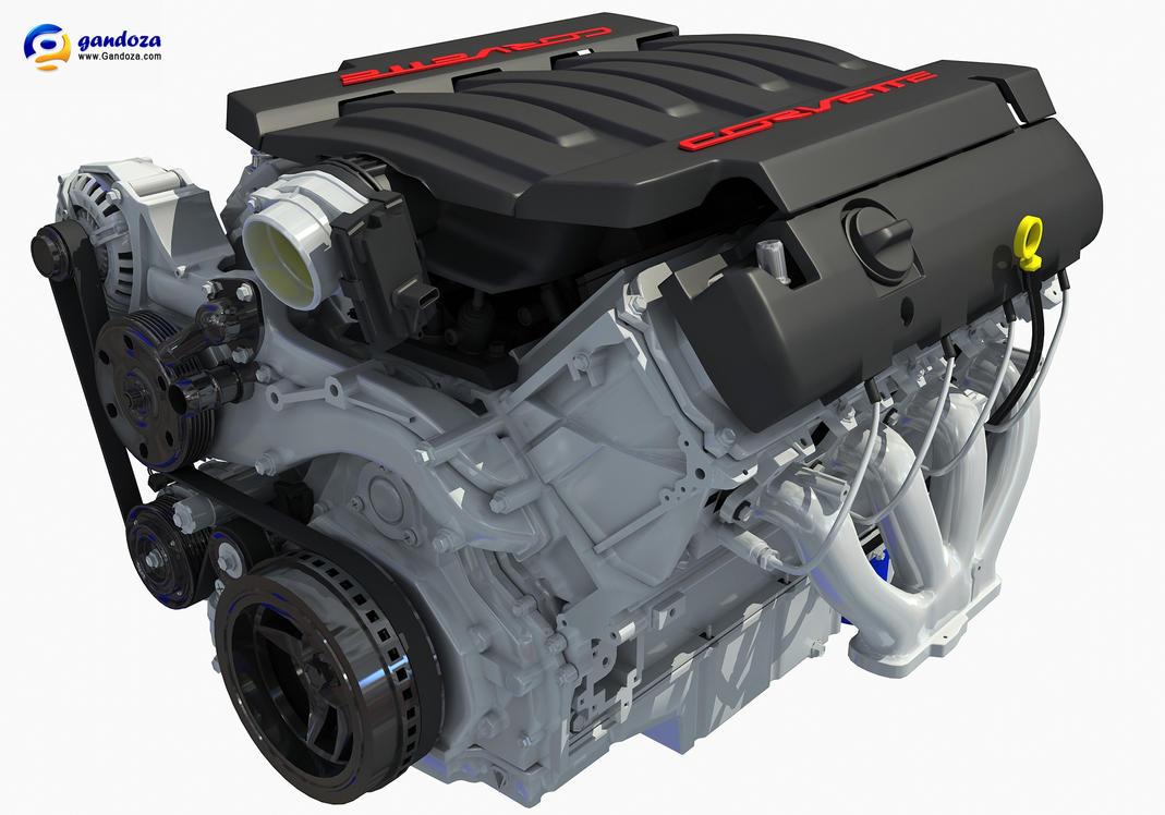 2014 CHEVROLET CORVETTE V8 ENGINE by Gandoza