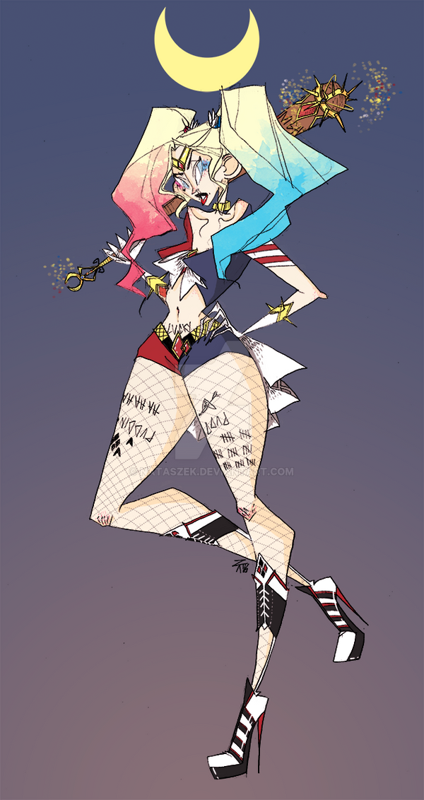 Sailor Quinn by nataszek