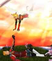 FFXI: When I fall... by Amaipetisu