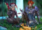 Commission: Dragon's Aery