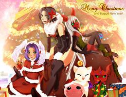 Christmas card 2012 by Amaipetisu