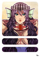 Ragnarok Online: Marsha portrait by Amaipetisu