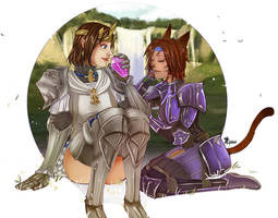 Commission: MirroredSky by Amaipetisu