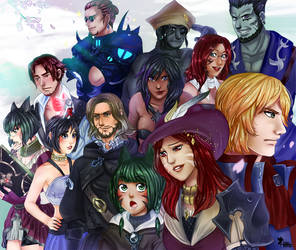 FFXIV - group commission