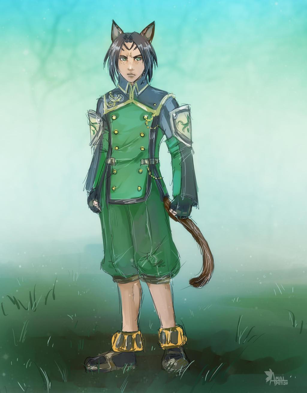 Commission: Ginn by Amaipetisu