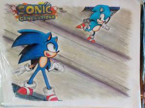 Sonic Generation drawing