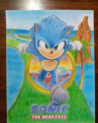 Sonic La Pelicula Fanart